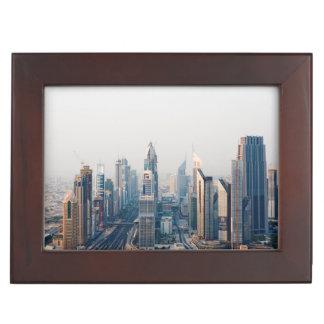 Sheikh Zayed Road Keepsake Box