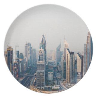 Sheikh Zayed Road Plate
