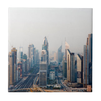 Sheikh Zayed Road Small Square Tile