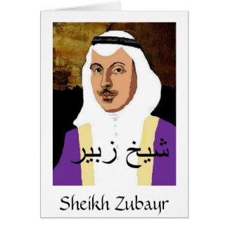 Sheikh Zubayr notecard Note Card
