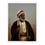 Sheiks of a Palestine village, Holy Land rare Phot