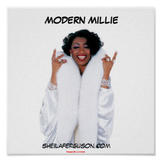 Sheila Ferguson as Modern Millie Poster