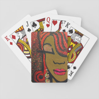 """Sheizign """"Confidence"""" Playing Cards"""