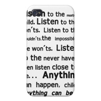 Shel Silverstein Quote iPhone Case iPhone 4/4S Cover