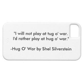 """Shel Silverstein's """"Hug O' War"""" iPhone/iPad case"""