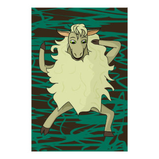 Shelby Sheep Poster