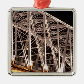 Shelby Street Bridge, Nashville, Tennessee, USA Christmas Ornament