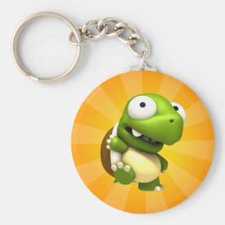 Sheldon Basic Round Button Key Ring