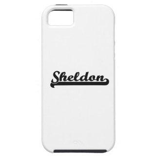 Sheldon Classic Retro Name Design iPhone 5 Case