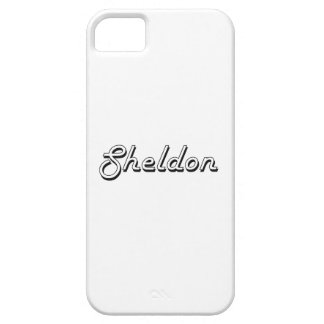 Sheldon Classic Retro Name Design Barely There iPhone 5 Case