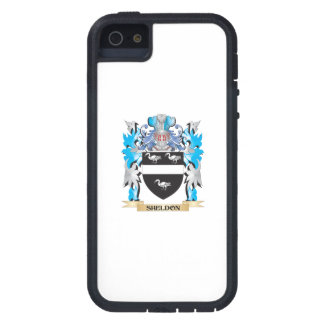Sheldon Coat of Arms - Family Crest Cover For iPhone 5