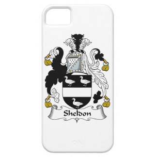 Sheldon Family Crest iPhone 5 Covers