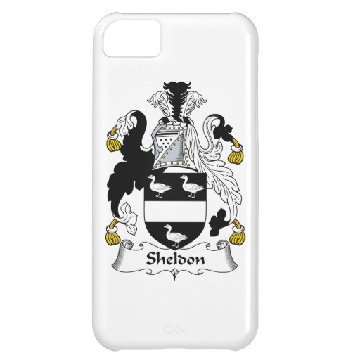 Sheldon Family Crest Cover For iPhone 5C