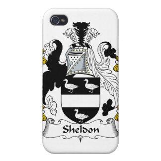 Sheldon Family Crest iPhone 4 Case