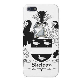 Sheldon Family Crest iPhone 5 Cases