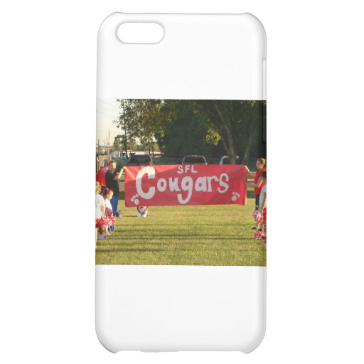 Sheldon Football League Cougars Under 8 Case For iPhone 5C