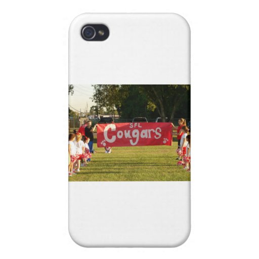 Sheldon Football League Cougars Under 8 Cover For iPhone 4