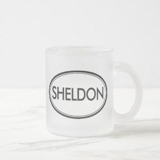 Sheldon Frosted Glass Mug