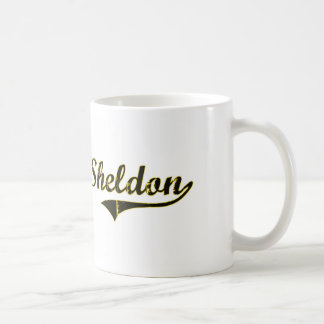 Sheldon Iowa Classic Design Basic White Mug