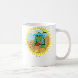 Sheldon on the Beach Basic White Mug