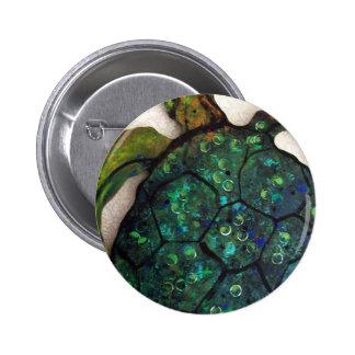 Sheldon the Sea turtle 6 Cm Round Badge