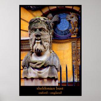 sheldonian bust print