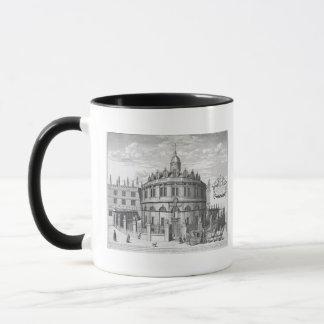 Sheldonian Theatre, Oxford, from 'Oxonia Illustrat Mug
