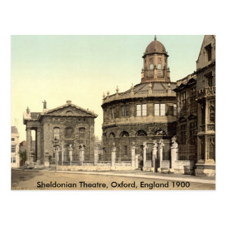 Sheldonian Theatre Post Card, Oxford, England Postcard