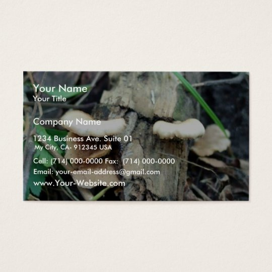 Shelf Mushroom Business Card
