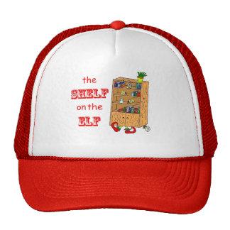 Shelf on the Elf Funny Christmas Hat