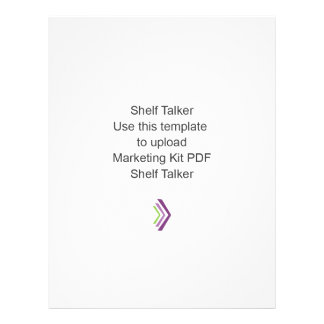 Shelf Talker Marketing Kit Template 21.5 Cm X 28 Cm Flyer