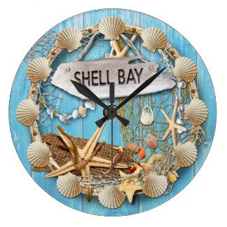 Shell Bay Clock