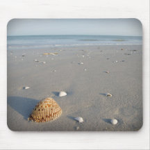 Shell Beach 2 Mouse Pad