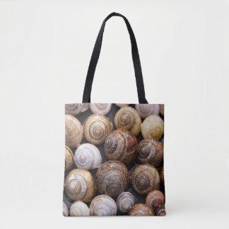 shell design tote bag