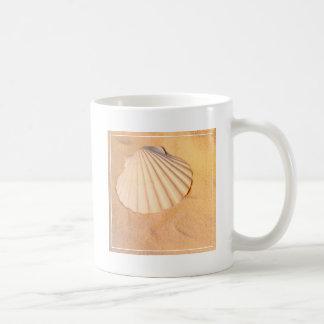 Shell Laying In Sand Coffee Mug