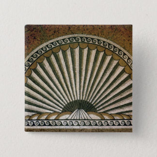Shell mosaic, Insula II Building I 130-150 AD 15 Cm Square Badge