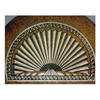 Shell mosaic, Insula II Building I 130-150 AD Postcard