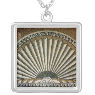 Shell mosaic, Insula II Building I 130-150 AD Silver Plated Necklace