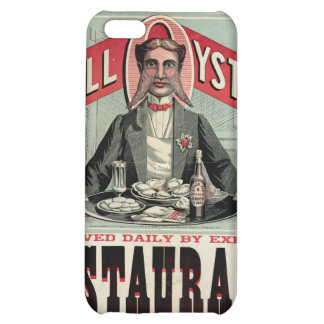 Shell Oysters Vintage Advertisement iPhone 5C Covers