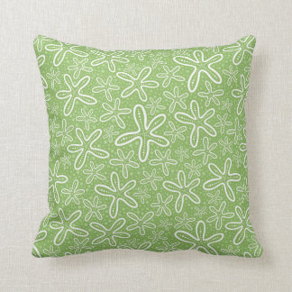 Shell Pattern On Spotted Background Cushion