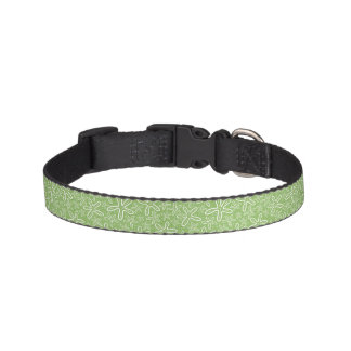 Shell Pattern On Spotted Background Pet Collar