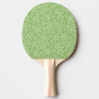 Shell Pattern On Spotted Background Ping Pong Paddle