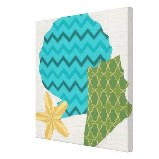 Shell Patterns II Canvas Print
