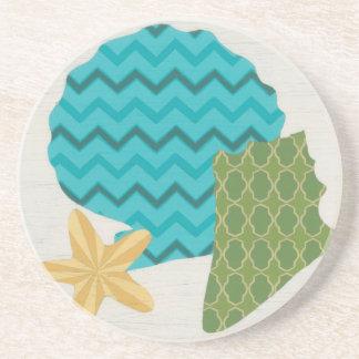 Shell Patterns II Coaster