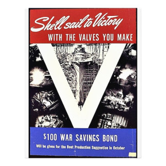 She'll Sail To Victory With The Valves You Make 21.5 Cm X 28 Cm Flyer