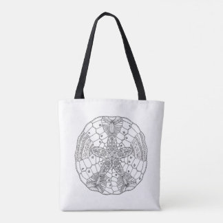 Shell Tote bag double side with original design