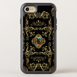 Shellbrooked Elegant Girly Damask Monogram OtterBox Symmetry iPhone 7 Case