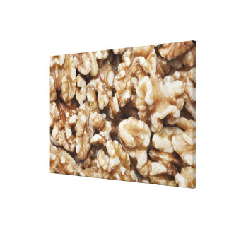 Shelled Walnuts Canvas Print