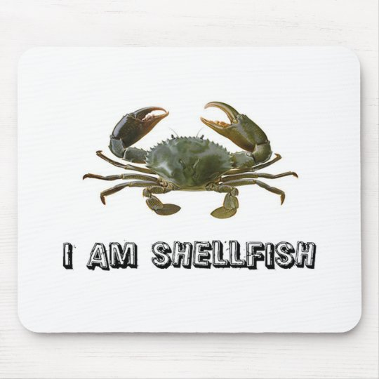 Shellfish Mouse Pad