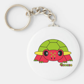 Shellie Pudgie Pet Basic Round Button Key Ring